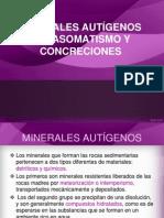Minerales autigenos