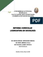 Plan de estudios Sociología_2008