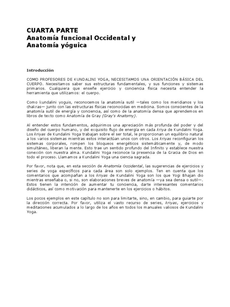 Anatomia Yoguica