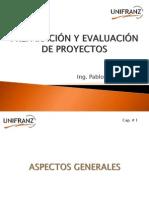 PREPARACIÓN Y EVALUACIÓN DE PROYECTOS UNIFRANZ (Cap 1)