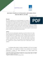 Discursos y políticas culturales de la dictadura cívico militar chilena. Karen Donoso Fritz