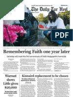 The Daily Tar Heel for September 6, 2013
