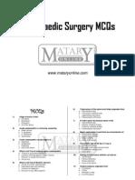 Orthopaedics MCQs