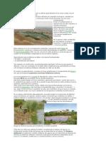 Los sistemas de lagunas de oxidación se utilizan generalmente en las zonas rurales