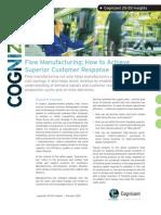 Flow Manufacturing