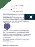 Massoneria - La Costituzionegoi
