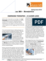 Asian MS Newsletter Spring Issue, 2012