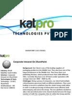 Case Studies Katpro