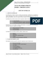 MANUAL DE ENTRENAMIENTO MINERO - V - FORTIFICACION BASICA