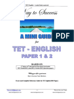 TET English Wts STUDY material