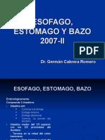 4ta Clase Abdomen - Esofago, Estomago, Bazo - Dr. Cabrera