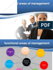 Functional Areas of Mgmt
