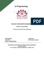 Training Report Format_CSE