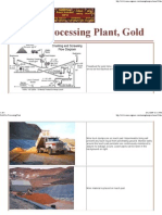 Gold Ore Processing Plant