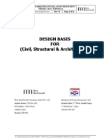 Civil Design Basis