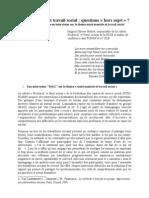 Santé mentale et travail social_Hors sujet_HO Hubert_FCSS_déc2010.pdf