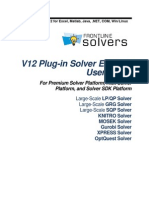 Solver Engines User Guide