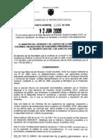 decreto liquidación de cajanal