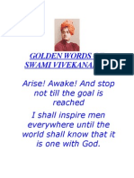 101996468 GOLDEN WORDS Swami Vivekanand