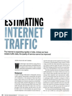 Internet Traffic Estimation