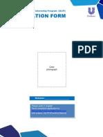 Application Form Unilever Internship (ULIP) 2013_tcm110-349706