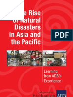 The Rise of Natural Disasters in Asia and the Pacific