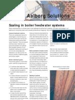 scaling in boiler