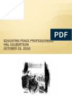 Educating Peace Professionals Thailand.ppt