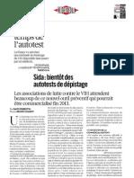 Dossier autotest de Libération