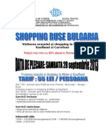 Oferta Shopping Ruse