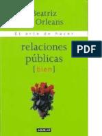 Beatriz de Orleans - El arte de hacer relaciones públicas (bien)
