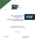 BFI report to Maine legislature