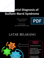 Differential Diagnosis of GBS