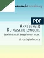 Klimaschutzwoche Arnsberg 2013