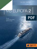 Hapag Lloyd Europa 2 2014/2015 online brochure