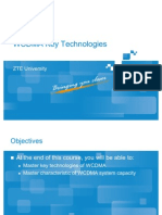 WCDMA Key Technology ZTE