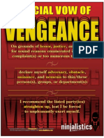 Official Vow of Vengeance