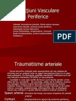 1 Trauma- Fistule- Anevrisme- Ischemie