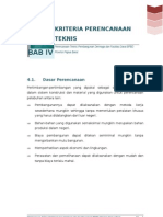 6. Bab 4 Kriteria Perencanaan Teknis