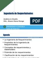 Clase#3 - A&D 2008 - Ingeniería de Requerimientos