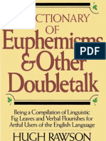 Crown-A Dictionary of Euphemisms and Other Doubletalk-Crown (1988)