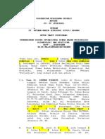 Contoh Kontrak KSO (PSAK 39)
