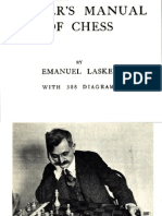 Emanuel Lasker Laskers-Manual of chess