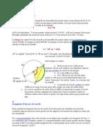 Définitions et formules