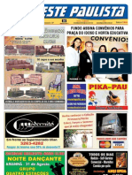 "Jornal "" O Oeste Paulista"" 2013-08-30 nº 4048"