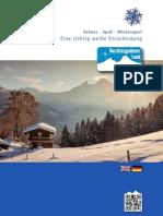 Schnee · Spaß · Wintersport im Berchtesgadener Land
