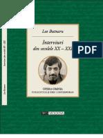 Butnaru Leo - Interviuri din secolele XX - XXI