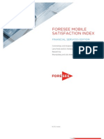 Financial Mobile Index 2012 Foresee