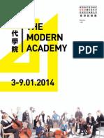 The Modern Academy Brochure 2014