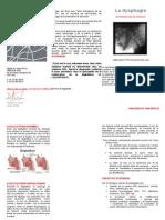 Brochure Information Dysphagie